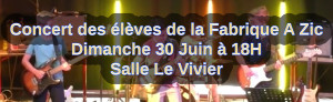 Annonce concert eleves